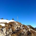 Das Gipfelkreuz auf dem Jochberg © Gipfelfieber.com