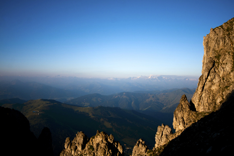 Sonnenaufgang über dem Großglockner © Gipfelfieber.com