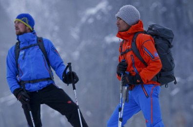 Peter Ortner und David Lama © Red Bull Media House