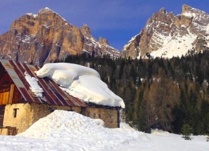 Auf Skido Skisafari in den Dolomiten