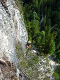 Im Grünstein Klettersteig © Gipfelfieber.com