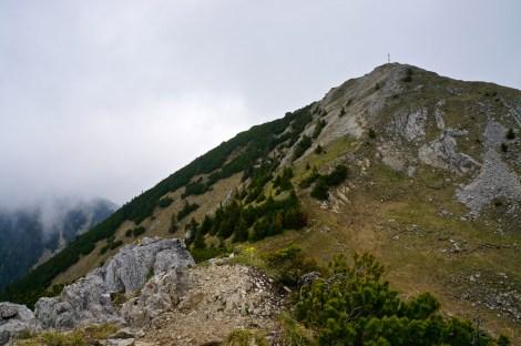 Der Gipfel der Scheinbergspitze © Gipfelfieber.com
