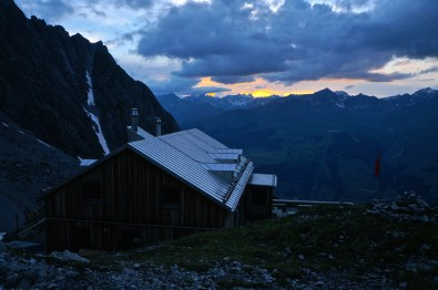 Sonnenuntergang über der Silvretta © Gipfelfieber.com