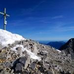 Das Gipfelkreuz an der Südspitze © Gipfelfieber.com