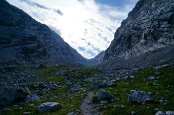 Am Ende des Schutts © Gipfelfieber.com