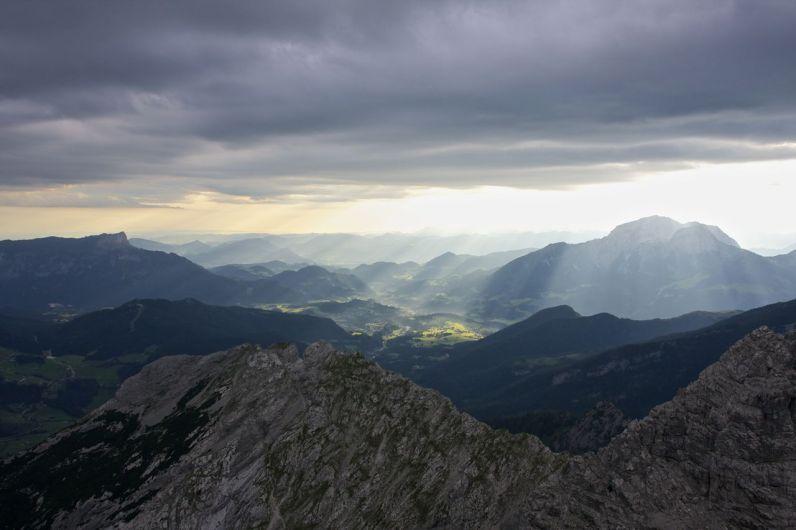Berchtesgaden in der Morgensonne © Gipfelfieber.com