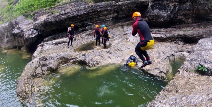 Canyoning im Almbachtal (Video)