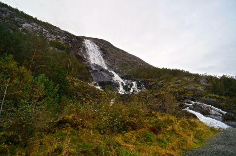 Der Langfoss Wasserfall © Gipfelfieber.com