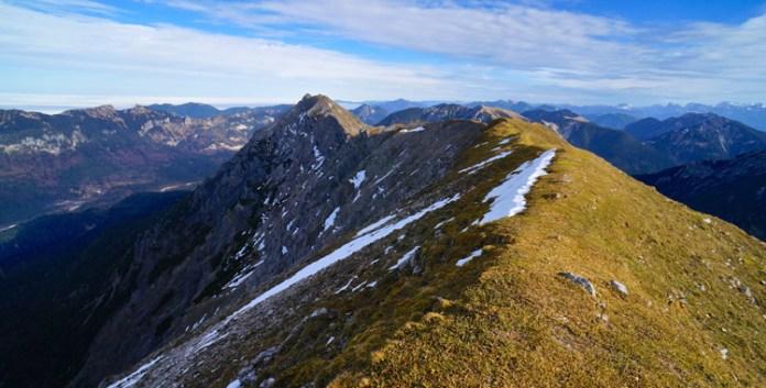 Rundtour über die Ammergauer Kreuzspitze und den Kuchelbergkamm
