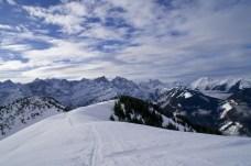 Perfekter Blick auf die Nördliche Karwendelkette © Gipfelfieber.com