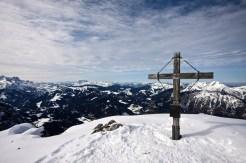 Das Gipfelkreuz vom Großen Weitschartenkopf © Gipfelfieber.com