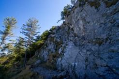 Kurze Drahtseil-versicherte Abschnitte © Gipfelfieber.com