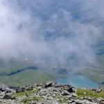 Der Glanzsee und die Feldnerhütte von oben © Gipfelfieber.com