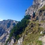 Steil geht`s abwärts © Gipfelfieber.com