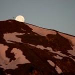 Der Mond geht unter © Gipfelfieber.com