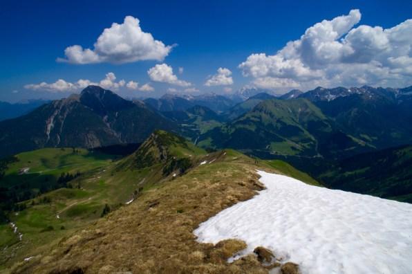 Der breite Rücken vom Galtjoch und die Abendspitze © Gipfelfieber.com