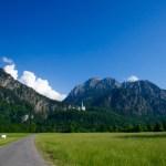 Blick zurück zum Schloss Neuschwanstein © Gipfelfieber.com