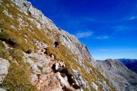 Durch die steile Südflanke © Gipfelfieber.com