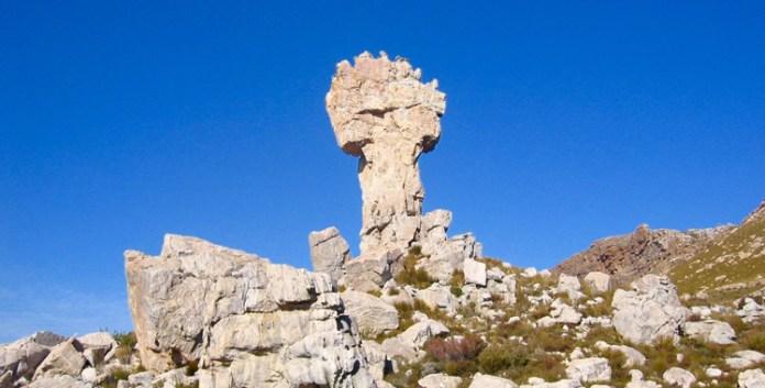 Südafrika: Maltese Cross - Wandern zum Steinernen Kreuz ©Gipfelfieber