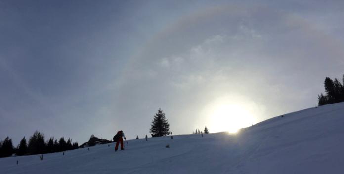 Peitingköpfl: Im Schneeloch der Chiemgauer