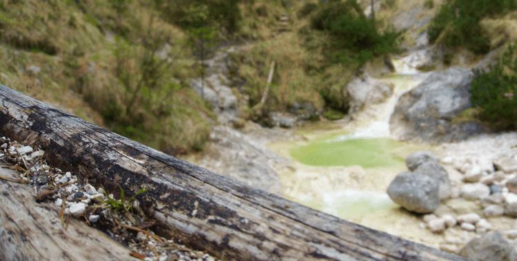 Aschauer Klamm: Grüner die Bäche nie leuchten ©Gipfelfieber