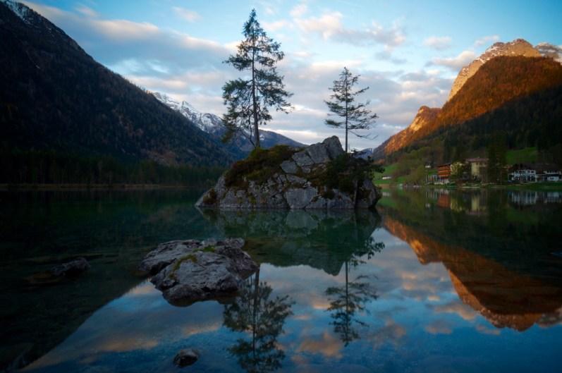 Licht beim Sonnenaufgang ©Gipfelfieber