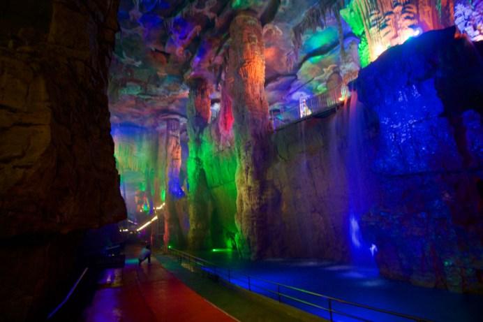 Riesige Halle der Höhle ©Gipfelfieber