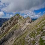 Eine letzte steile Querung ©Gipfelfieber