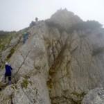 Im 5-Gipfel-Klettersteig ©Gipfelfieber