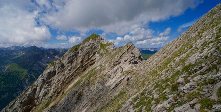 Die Gartner Wand - Der Berg mit zwei Gesichtern