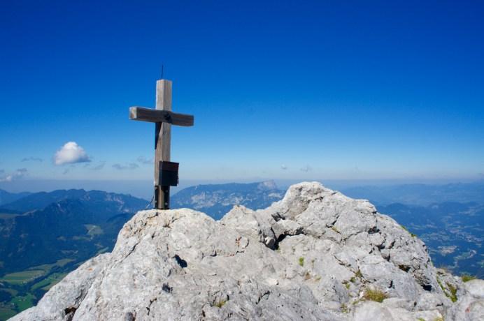 Das Gipfelkreuz der Schärtenspitze ©Gipfelfieber