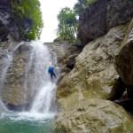 Abseilen im Wasserfall ©Gipfelfieber