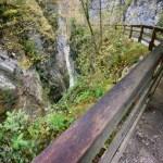 Podest und Weg über der Mayrbergklamm ©Gipfelfieber