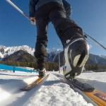 Auf Skating Ski ©Gipfelfieber