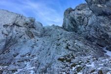 Kletterei über den Rücken ©Gipfelfieber