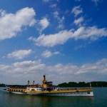 Schiff auf dem Chiemsee ©Gipfelfieber