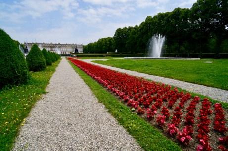 Parkanlage von Schloss Herrenchiemsee ©Gipfelfieber