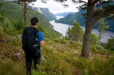 Über dem Inlandsfjord ©Gipfelfieber