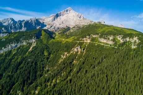 Wandergebiet rund um die Alpspitze ©Gipfelfieber