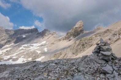 Die markante Bockkarspitze ©Gipfelfieber