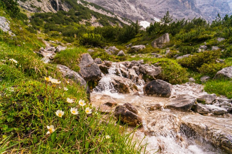 Noch gibt es Wasser ©Gipfelfieber