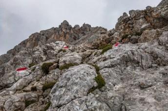 Leichtes Klettergelände ©Gipfelfieber