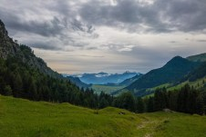 Chiemgau nach einem verregneten Tag ©Gipfelfieber