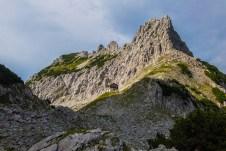 Fritz-Pflaum-Hütte und Mitterkaiser ©Gipfelfieber