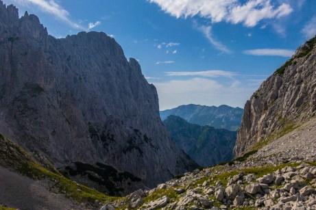 Abstieg durch das Große Griesener Tor ©Gipfelfieber