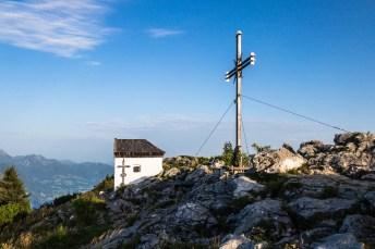 Das neue Spitzstein Gipfelkreuz ©Gipfelfieber