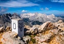 Fuchsteufelswild: Die Dreitorspitzen im Wettersteingebirge ©Gipfelfieber