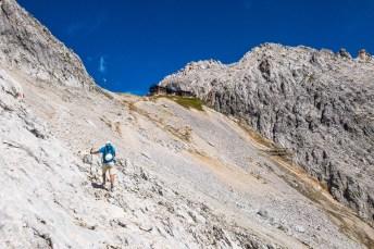 Letzter Anstieg zur Meilerhütte ©Gipfelfieber
