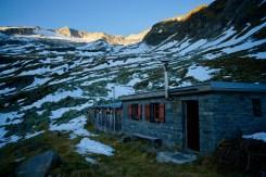 Gießener Hütte und Hochalmspitze ©Gipfelfieber