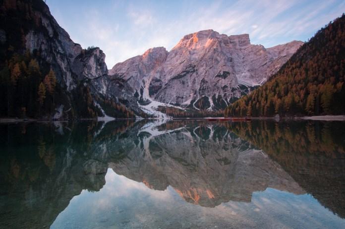 Pragser Wildsee: Reflektion in Perfektion ©Gipfelfieber